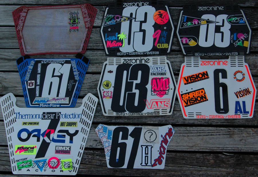 VintageBMX.com > Homage To Early Mid School Number Plates